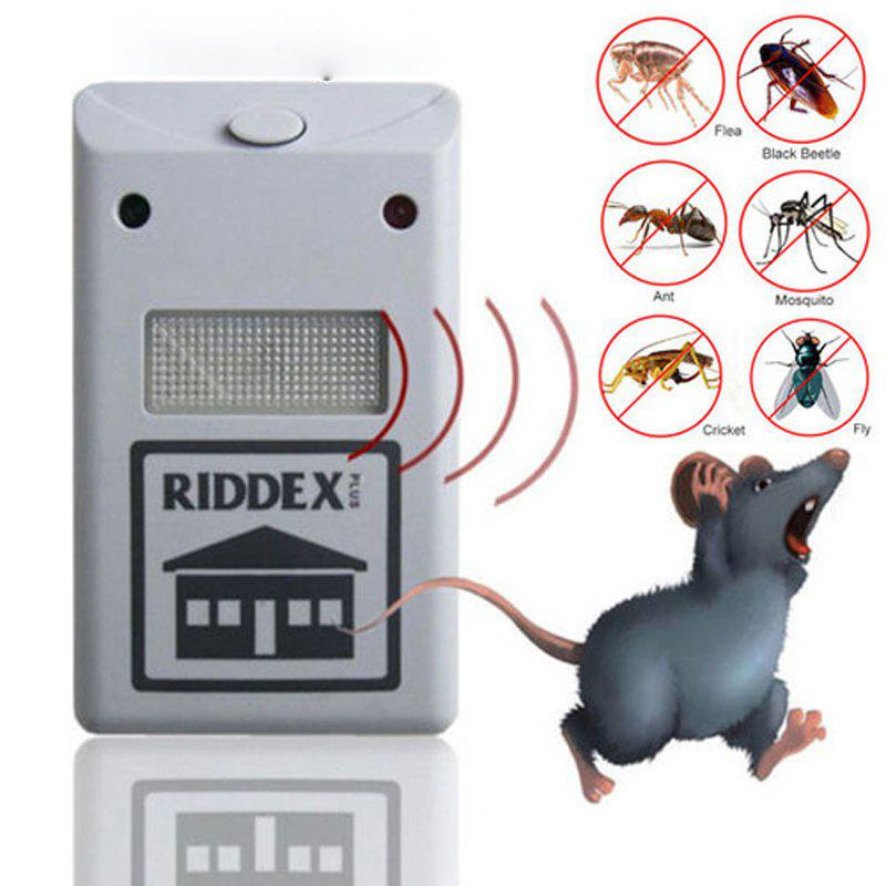 Outfit Pest Control Reject Rat Spider Insect Ultrasonic Repeller Repellent