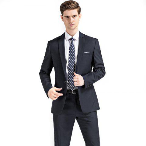 Hot Men's Wedding Suit Sets Formal Fashion Slim Fit Business Dress Suits