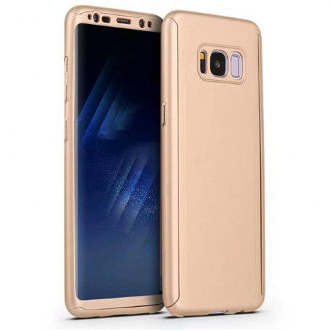 Outfit Full PC Back Cover Funda Complete All Around with Tempered Glass Case for Samsung Galaxy S8