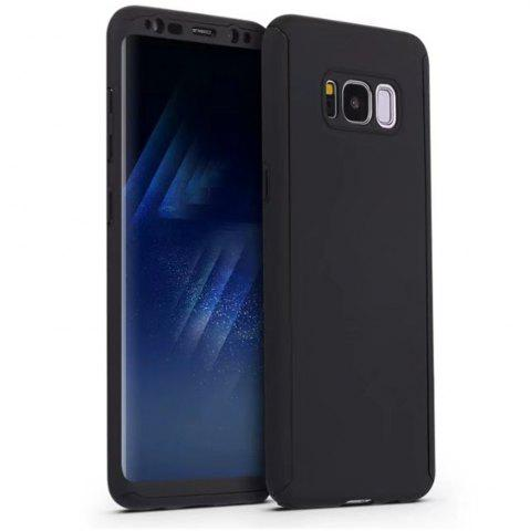 Cheap Full PC Back Cover Funda Complete All Around with Tempered Glass Case for Samsung Galaxy S8