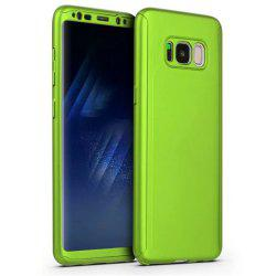 Full PC Back Cover Funda Complete All Around with Tempered Glass Case for Samsung Galaxy S8 -