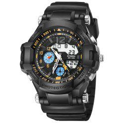 SYNOKE 67366 Men LED Digital Quartz Sport Watch -