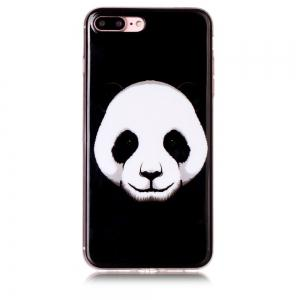 Panda Ultra Thin Slim Soft TPU Silicone Case for iPhone 7 Plus/8 Plus -