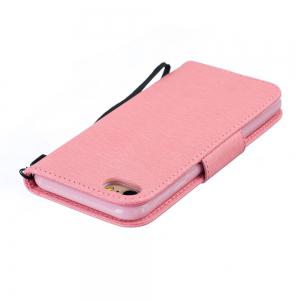 Little Bear Embossed Wallet Flip PU Leather Card Holder Standing Phone Case for iPhone 7 / 8 -
