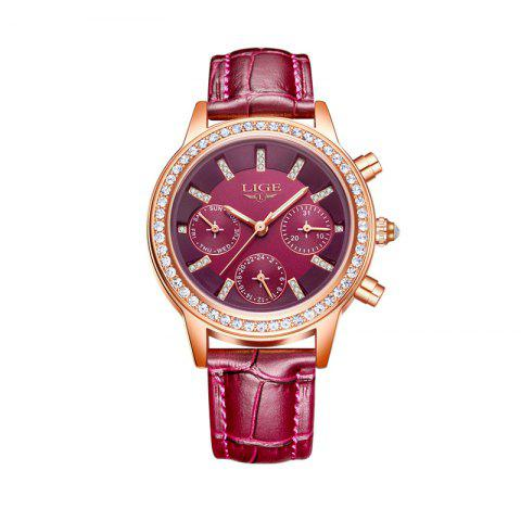 New LIG 9812 4863 Fashionable Exquisite Women Watch