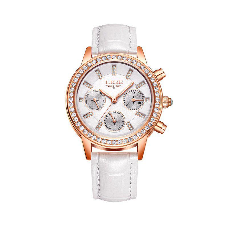Trendy LIG 9812 4863 Fashionable Exquisite Women Watch