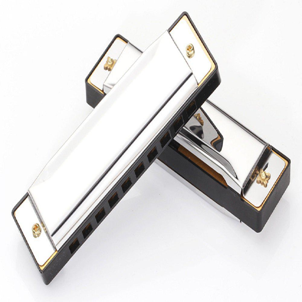 Outfits Harmonica Key of C 10 Tremolo Hole Diatonic polyphony Tone Blues Harmonica