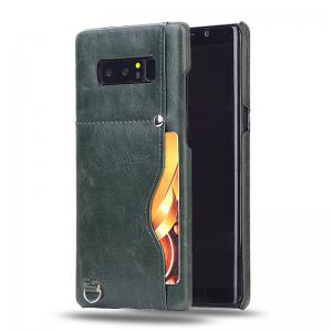Crazy Horse Stripes PU Leather All Encompassing Case for Samsung Galaxy Note 8 -