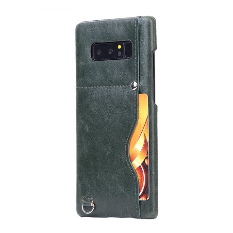 Online Crazy Horse Stripes PU Leather All Encompassing Case for Samsung Galaxy Note 8