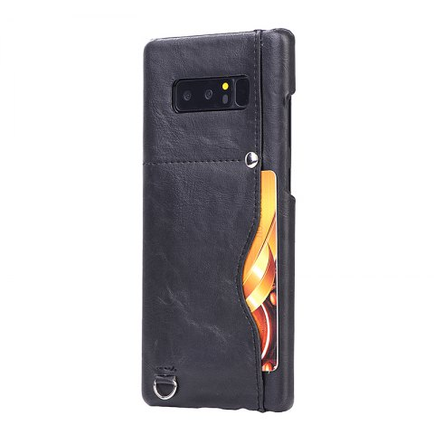 New Crazy Horse Stripes PU Leather All Encompassing Case for Samsung Galaxy Note 8