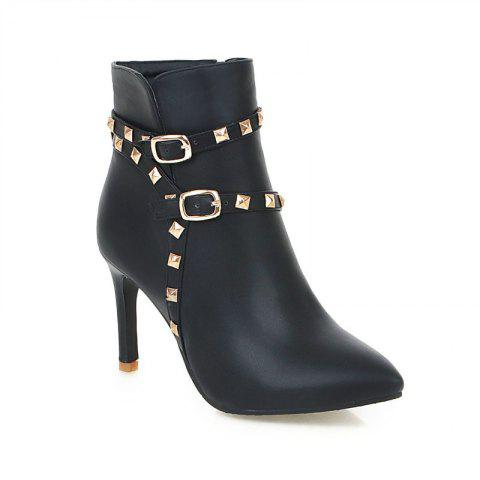 Trendy Pointed Thin Heel Sexy Boots with High Heel