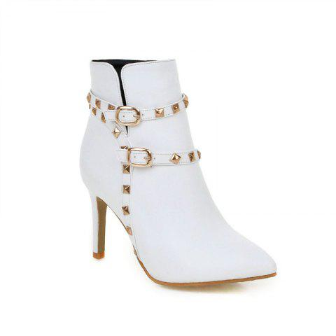 Outfit Pointed Thin Heel Sexy Boots with High Heel