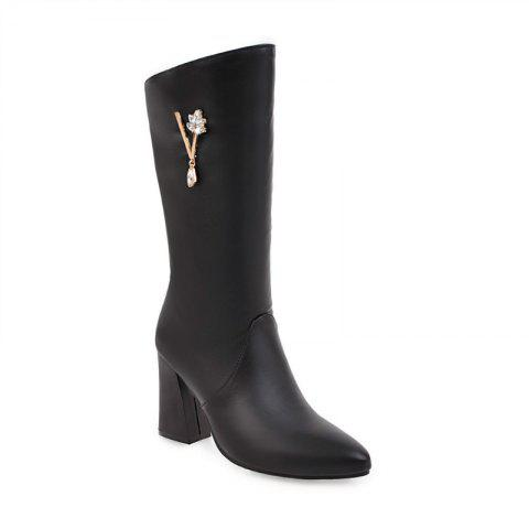 Outfits Pointed and High Heeled Fashion Knight Boots