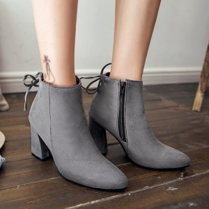 High Heels and Sexy Short Boots -