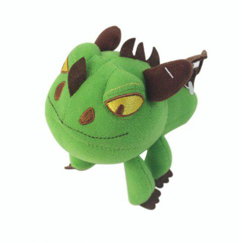 Unique Q Version Green Dragon Animal Plush Doll Stuffed Toy