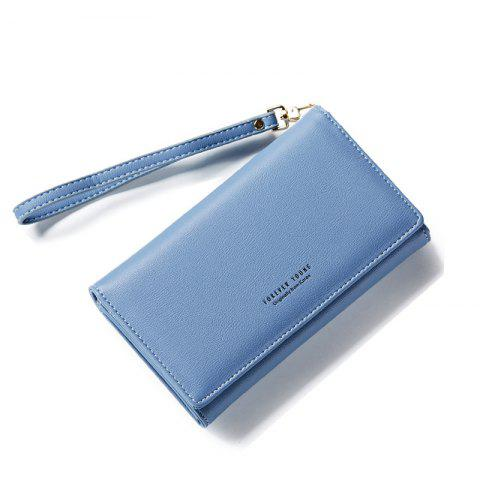 Shops Fashion Women Long Clutch Wallet Ladies Pu Zip Female Card Holder Coin Purse