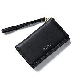 Fashion Women Long Clutch Wallet Ladies Pu Zip Female Card Holder Coin Purse -