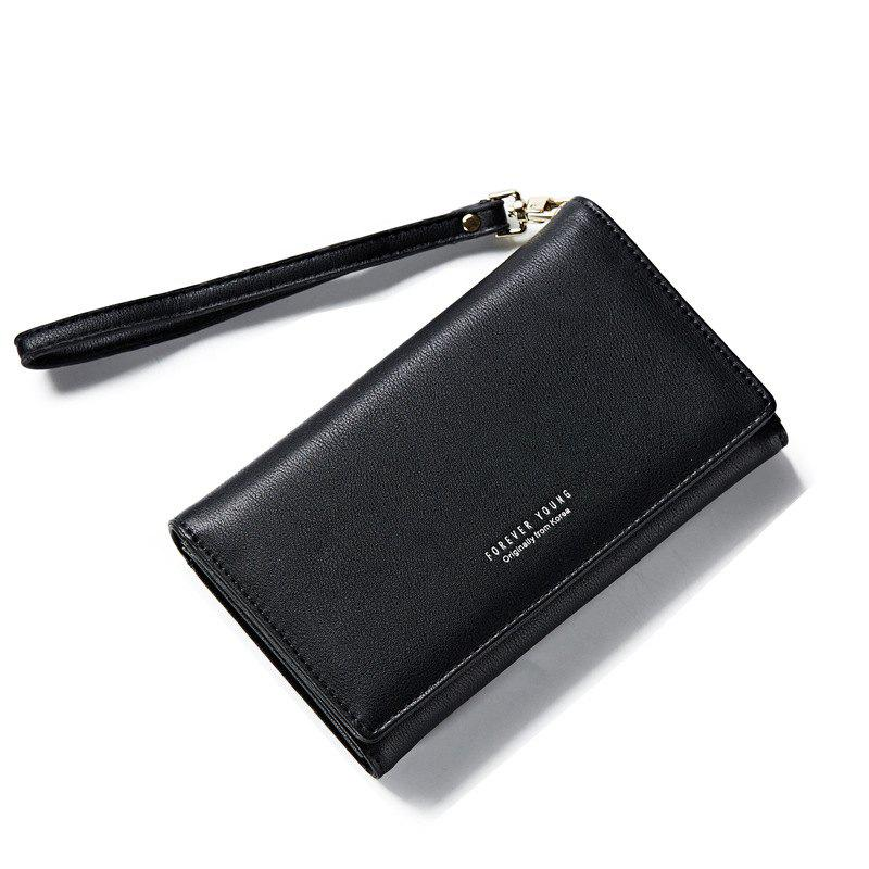 Chic Fashion Women Long Clutch Wallet Ladies Pu Zip Female Card Holder Coin Purse