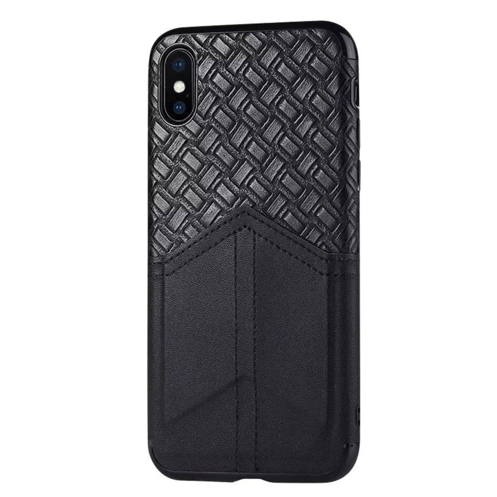 Sale Ultra Slim Credit Card Slots Shockproof Protective Skin Cover Case for iPhone X