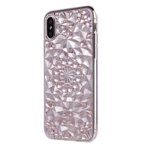Sale Soft Flexible TPU Rubber Diamond Bling Glitter Protective Case Cover for iPhone X