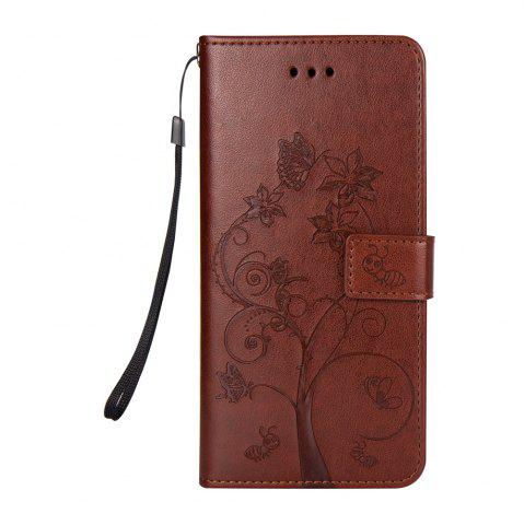 Shop Ants On The Tree PU Leather Dirt Resistant Phone Case for Samsung Galaxy S8
