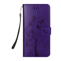 Ants On The Tree PU Leather Dirt Resistant Phone Case for Samsung Galaxy S8 -