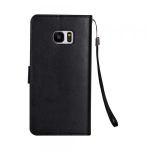 Slender Hand PU Leather Dirt Resistant Phone Case for Samsung Galaxy S7 Edge -
