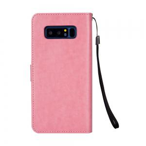 Slender Hand PU Leather Dirt Resistant Phone Case for Samsung Galaxy Note 8 -