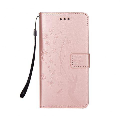 Shop Slender Hand PU Leather Dirt Resistant Phone Case for Samsung Galaxy Note 8