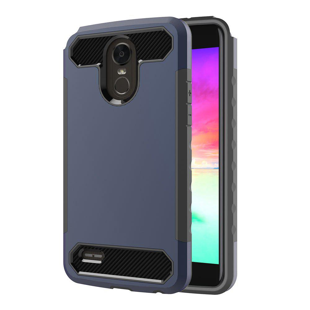 Carbon Fiber 2 In 1 Soft Tpu Protector Phone Case for LG Stylo 3 238603103