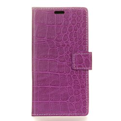 Vintage Crocodile Pattern PU Leather Wallet Case for LG V30 -