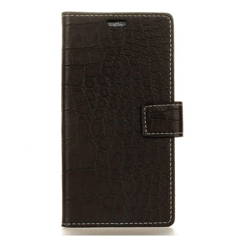 Hot Vintage Crocodile Pattern PU Leather Wallet Case for Moto Z2 Force 2017