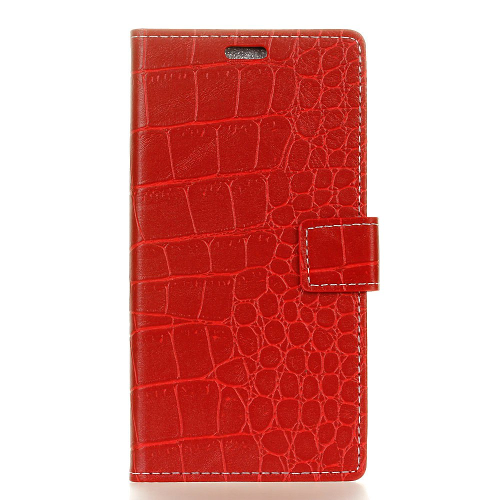 Buy Vintage Crocodile Pattern PU Leather Wallet Case for Moto Z2 Force 2017