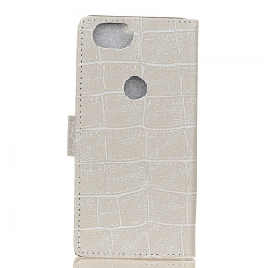 Vintage Crocodile Pattern PU Leather Wallet Case for Google Pixel Xl 2 -