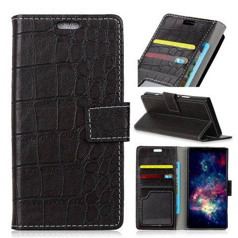 Hot Vintage Crocodile Pattern PU Leather Wallet Case for Xiaomi Redmi Note 4X