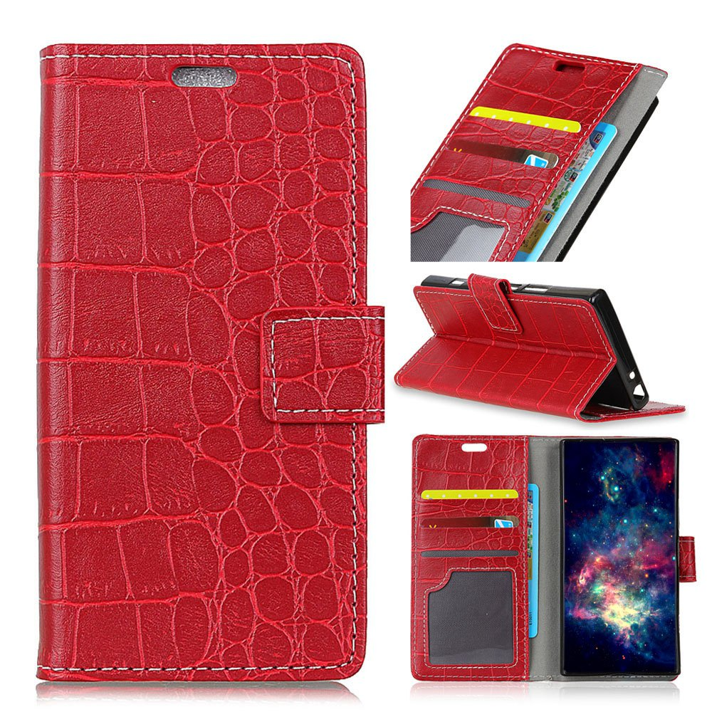 Trendy Vintage Crocodile Pattern PU Leather Wallet Case for Xiaomi Redmi Note 4X