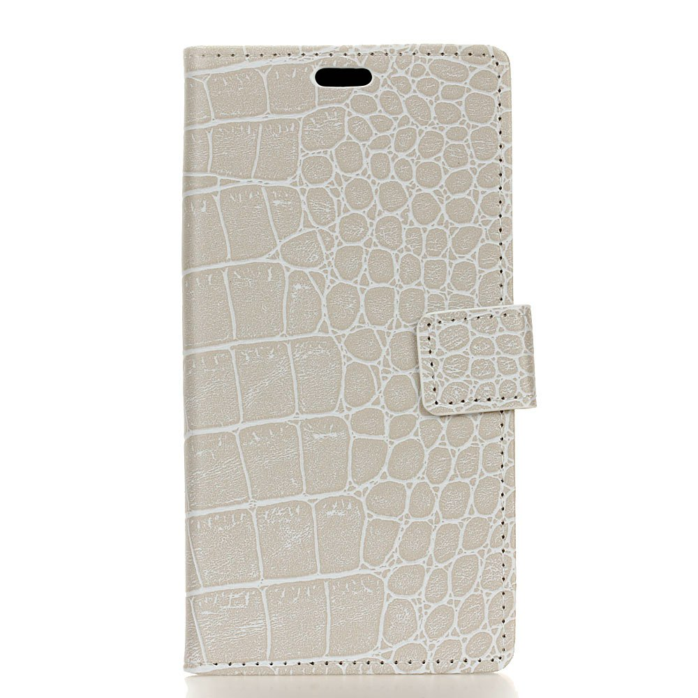 Outfit Vintage Crocodile Pattern PU Leather Wallet Case for Huawei Mate 10 Lite