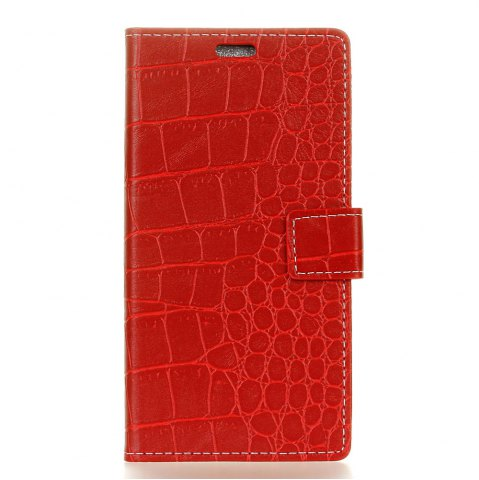 Unique Vintage Crocodile Pattern PU Leather Wallet Case for Huawei Y5 2017