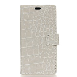 Vintage Crocodile Pattern PU Leather Wallet Case for Huawei Y5 2017 -