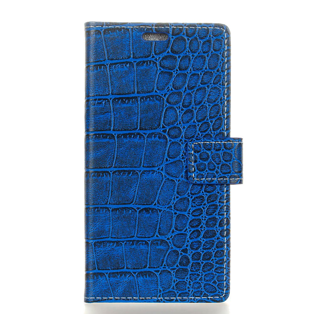 Outfits Vintage Crocodile Pattern PU Leather Wallet Case for Huawei Y5 2017