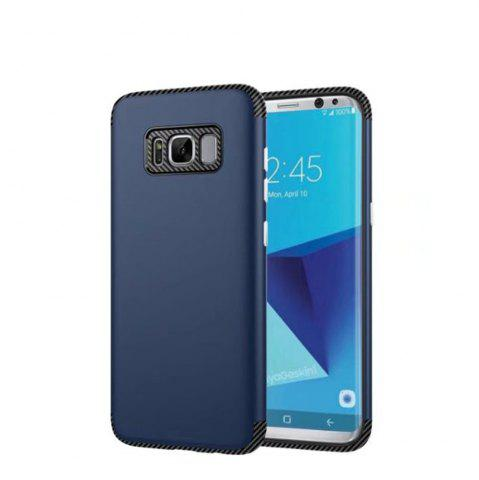 Best Luxury Shockproof Back Cover Carbon Fiber TPU + PC Protective for Samsung Galaxy S8 Plus