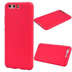 Ultra-thin Back Cover Solid Color Soft TPU Case for Huawei P10 -