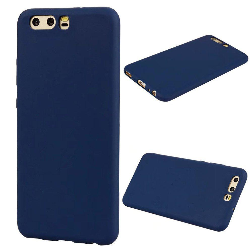 Best Ultra-thin Back Cover Solid Color Soft TPU Case for Huawei P10