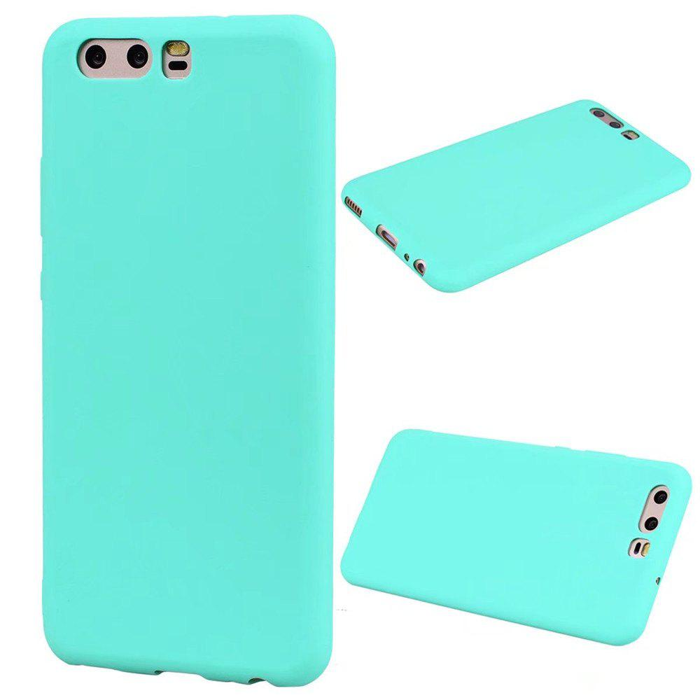 Affordable Ultra-thin Back Cover Solid Color Soft TPU Case for Huawei P10