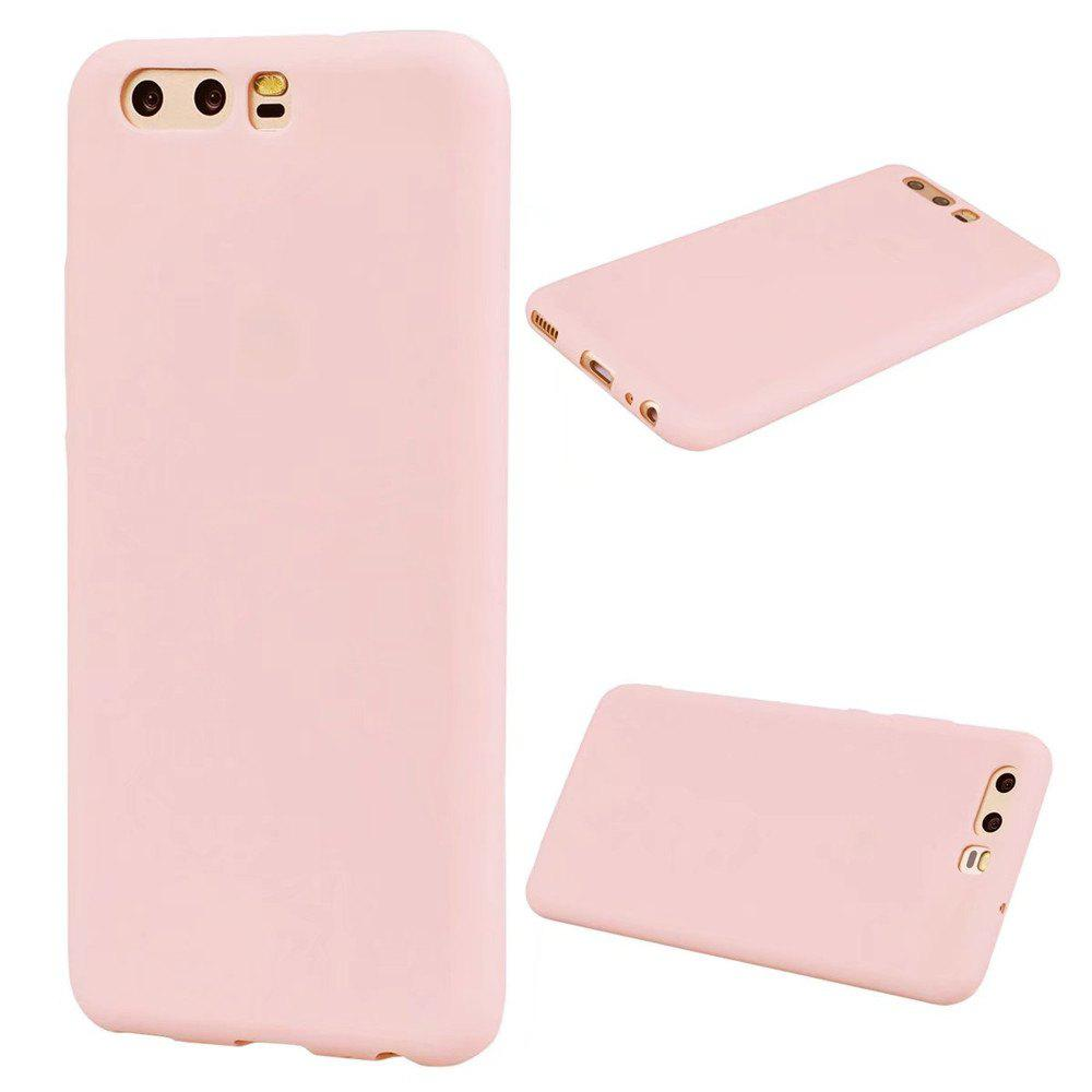 Outfits Ultra-thin Back Cover Solid Color Soft TPU Case for Huawei P10