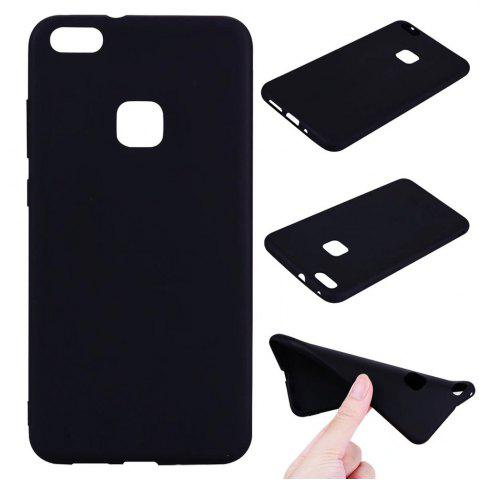Shop Ultra-thin Back Cover Solid Color Soft TPU Case for Huawei P10 Lite