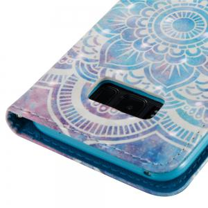 3D Painted Mandala Leather Case for Samsung Galaxy S8 Plus -