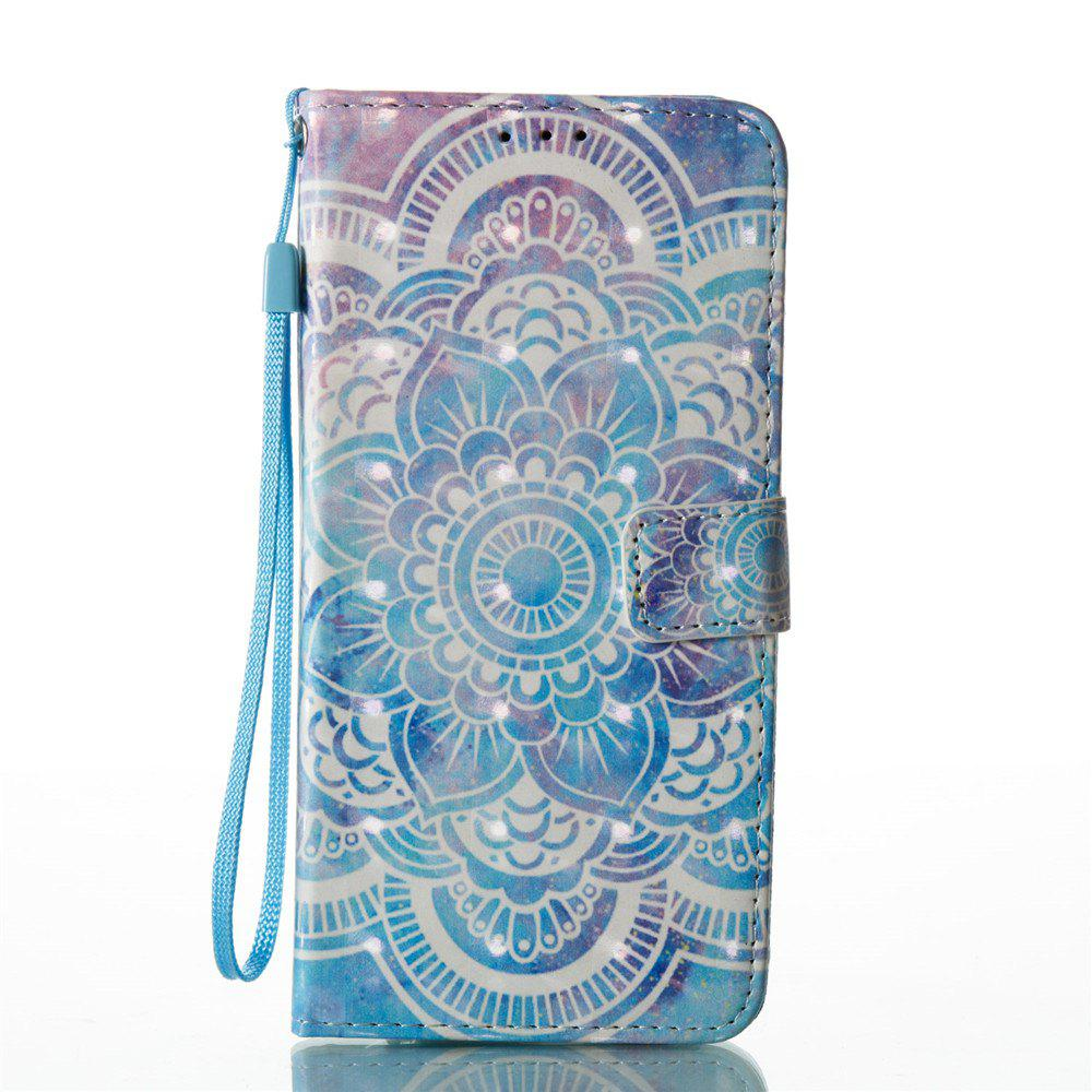 Online 3D Painted Mandala Leather Case for Samsung Galaxy S8 Plus