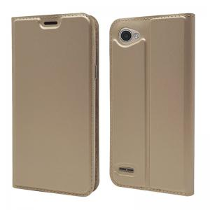 Ultra thin Flip Magnetic PU Leather Phone Cover for LG Q6 -