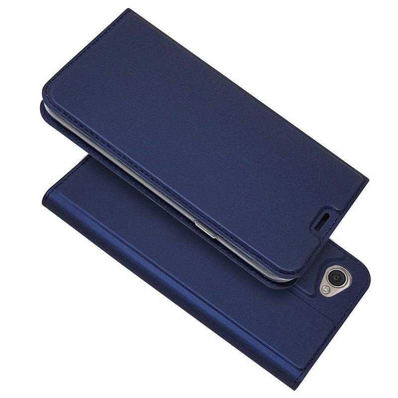 Outfits Ultra thin Flip Magnetic PU Leather Phone Cover for LG Q6